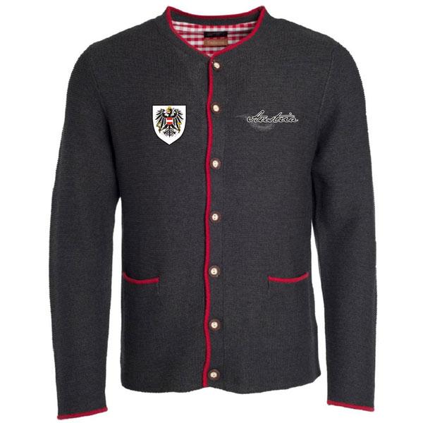 Austrian Shirt HIRSCH Herren - Trachtige Mode mit Österreich Wappen ... 96c81fa34e